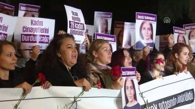 Şişli'deki cinayeti protesto edildi - İSTANBUL