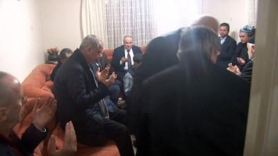 TBB Başkanı Feyzioğlu'ndan şehit evine taziye ziyareti