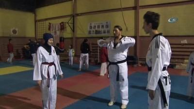 Türkiye şampiyonu çıkaran tekvandocu aile