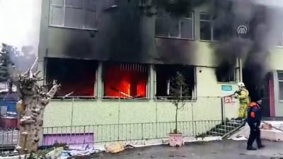 deprem - Beykoz'da yangın - İSTANBUL