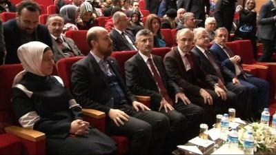 Bilal Erdoğan, Recep Tayyip Erdoğan Üniversitesi'nde 'Yeni Türkiye ve Gençlik' konferansına katıldı