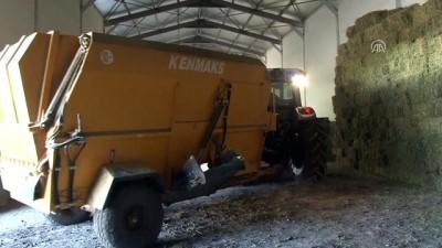 Devlet desteğiyle Avrupa standartlarında çiftlik kurdu - MUŞ