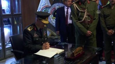 Genelkurmay Başkanı Orgeneral Akar - Irak Savunma Bakanlığı anı defteri - BAĞDAT