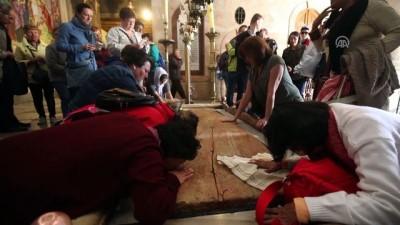Kudüs'teki Kıyamet Kilisesi yeniden açıldı - KUDÜS