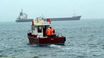Kuru yük gemisindeki patlamada ölen personelin cenazesi gemiden alındı - SİNOP
