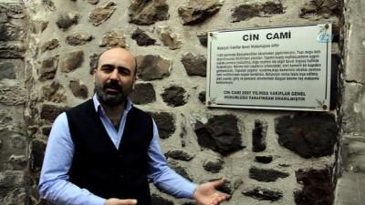 """Niksar'da 858 yıllık """"Cin Cami"""" ismiyle dikkat çekiyor"""