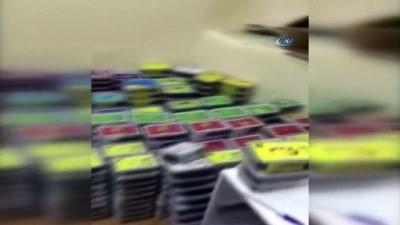 Polisten kaçak tütün operasyonu kamerada