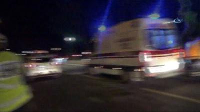Alkolü fazla kaçıran sürücü polisleri çileden çıkardı