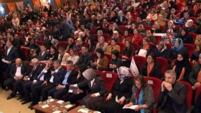 """Bakan Sarıeroğlu; """"Kadınların iş gücüne katılma oranı yüzde 33,8'e yükseldi"""""""