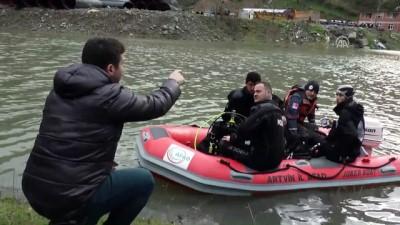 Baraj gölünde tekne battı - ARTVİN