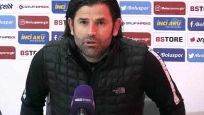 Boluspor-Çaykur Rizespor maçının ardından - BOLU