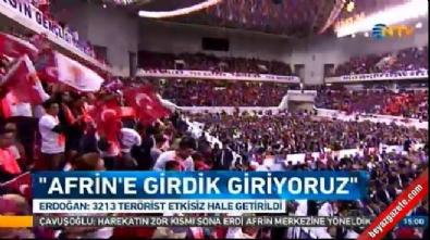 Zeytin Dalı Harekatı - Erdoğan, partisinin Mersin 6. Olağan İl Kongresi'nde konuştu