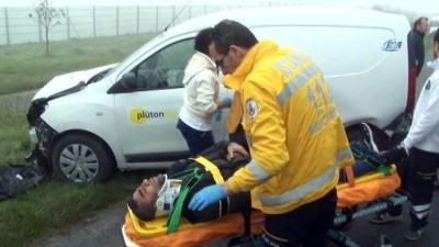 Silivri'de sis, kazaları beraberinde getirdi: 1 ölü, 3 yaralı