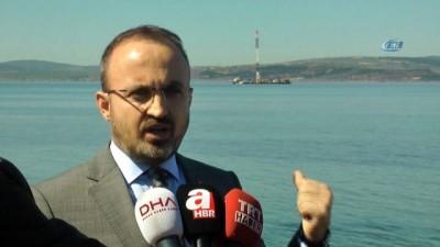 AK Parti Grup Başkanvekili ve Çanakkale Milletvekili Bülent Turan: 'Çanakkale 1915 Köprüsünün dünyada çok özel bir yeri olacak'