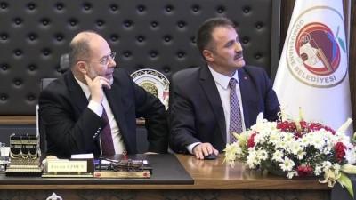 Başbakan Yardımcısı Akdağ'ın Belediye Başkanlığı ziyareti - GÜMÜŞHANE