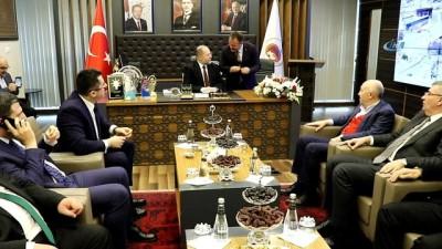 Başbakan Yardımcısı Akdağ, Siyaset Akademisinin ilk dersini verdi