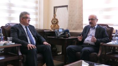 Kalkınma Bakanı Elvan - Hızlı tren çalışmaları - AKSARAY