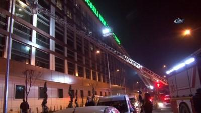 Kocaeli Devlet Hastanesi yoğun bakımında yangın paniği