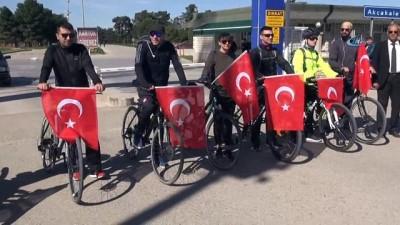 Sınırın sıfır noktasında Afrin'e destek