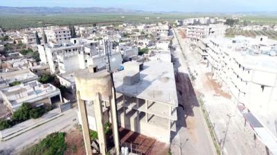 isgal - Teröristlerden temizlenen Cinderes belde merkezi havadan görüntülendi - AFRİN