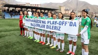 TFF Kadınlar 2. Lig: Hakkarigücüspor: 9 Konya İdmanyurduspor: 0