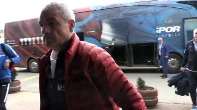 Trabzonspor kafilesi Manisa'ya gitti