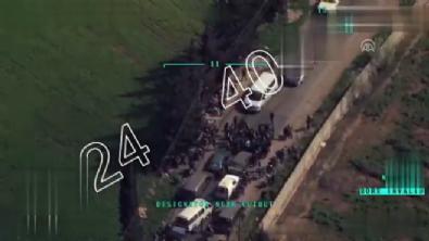 Afrin'den çıkmak isteyen sivilleri ateş edip durdurdular