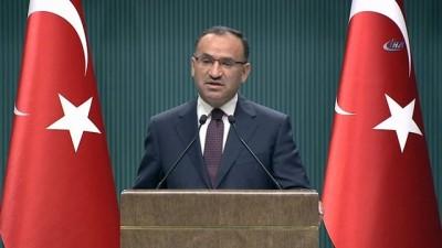 Bekir Bozdağ: '3 bin 381 terörist etkisiz hale getirilmiştir'