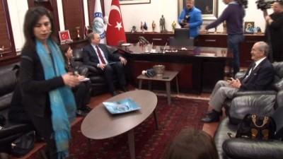 Büyükelçi Berger, Başkan Büyükerşen'i ziyaret etti