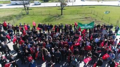 Meslek Lisesi öğrencilerinden Afrin'e destek