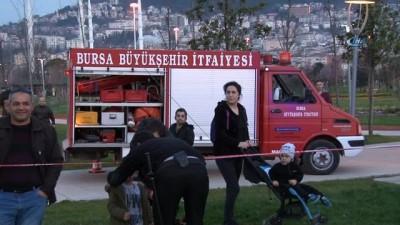 Sal sefasında can pazarı, 5 kişi itfaiyenin nefes kesen operasyonuyla kurtarıldı