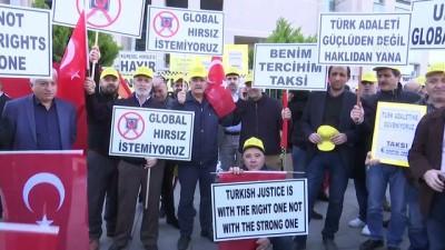 Taksicilerden 'Uber' tepkisi - İSTANBUL