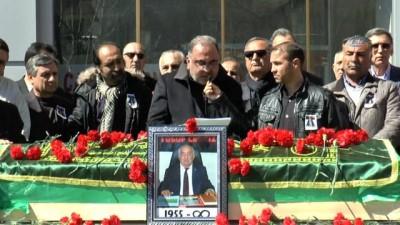Tunceli TSO Başkanı Cengiz son yolculuğuna uğurlandı