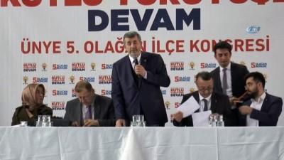 """Ünye Belediye Başkanı Ahmet Çamyar: """"AK Parti milletin partisidir"""""""