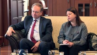 AB Türkiye Delegasyonu Başkanı Berger, Büyükşehir Belediye Başkanı Aktaş'ı ziyaret etti - BURSA