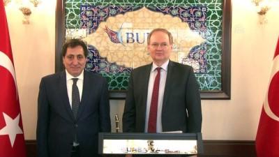 AB Türkiye Delegasyonu Başkanı Berger'den Bursa Valisi Küçük'e ziyaret - BURSA