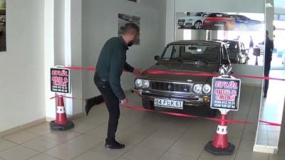 Almak için 10 ay uğraştığı otomobilini şeritle koruyor - KAHRAMANMARAŞ