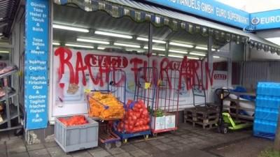 - Almanya'da Türk Marketine Saldırı