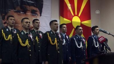 Atatürk, Manastır Askeri İdadisinde anıldı - MANASTIR