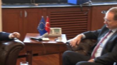 Avrupa Birliği Türkiye Delegasyonu Başkanı Berger Bursa'da