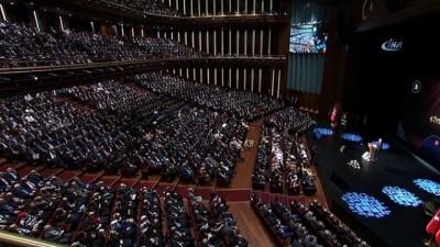 Cumhurbaşkanı Erdoğan: 'DEAŞ ve FETÖ eski Roma'nın sembollerinden Janus'un biri doğuya biri batıya bakan iki yüzü gibidir'