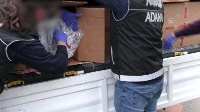 Gardiyanın kullandığı kamyonette esrar ele geçirildi - ADANA