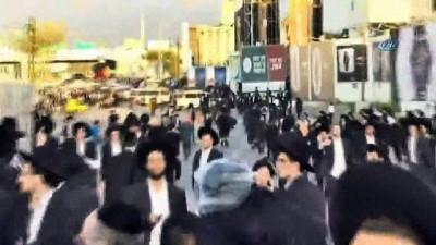 - İsrail'de 'zorunlu askerlik' gerginliği - Haredi Yahudileri, polisle çatıştı