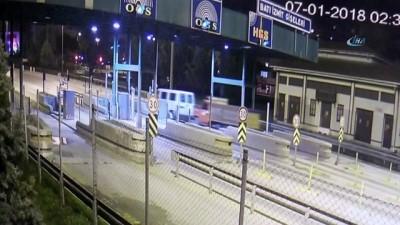 İzmit'ten çaldıkları kamyoneti çekerek İstanbul'a kadar böyle götürdüler