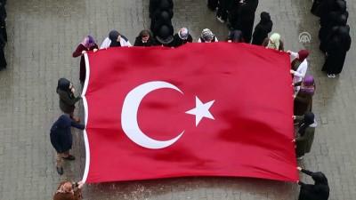 Öğrencilerden Mehmetçik'e kareografili destek - IĞDIR