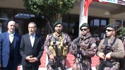 Özel harekat polisleri, dualarla Afrin'e uğurlandı - ADIYAMAN