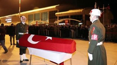 Şehit Jandarma Uzman Çavuş Koç'un cenazesi memleketine uğurlandı - AĞRI