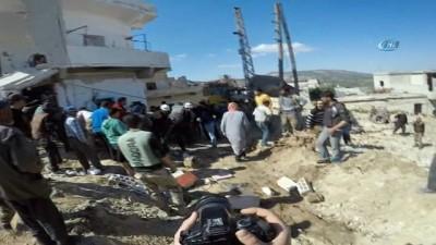 - Tahliye Hazırlıkları Yapılırken Doğu Guta Yine Bombalandı - Dün Gece 27 Kişi Bu Sabah 6 Kişi Hayatını Kaybetti