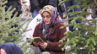 teror saldirisi - Terör kurbanı iki arkadaş mezarları başında anıldı - ANKARA