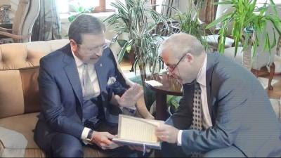 TOBB Başkanı Hisarcıklıoğlu Manisa'da
